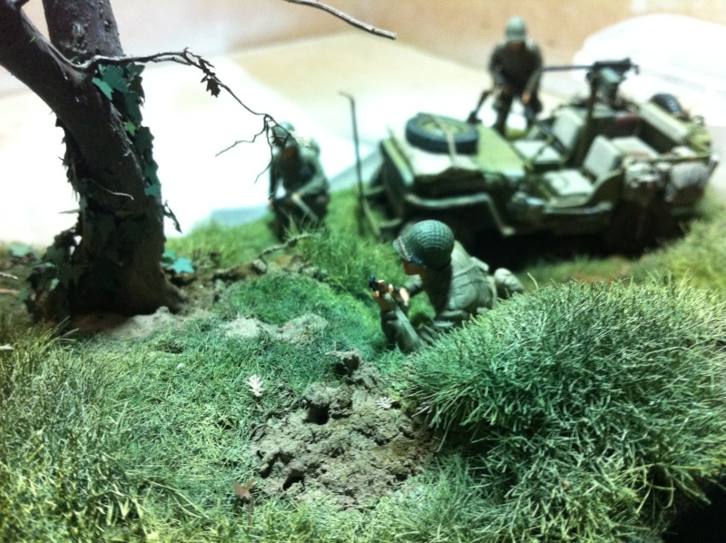 1/35 diorama Jeep Willys reco Photo_43