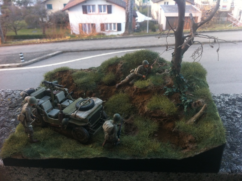 1/35 diorama Jeep Willys reco Photo_44