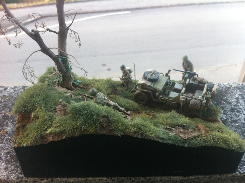 1/35 diorama Jeep Willys reco Photo_45