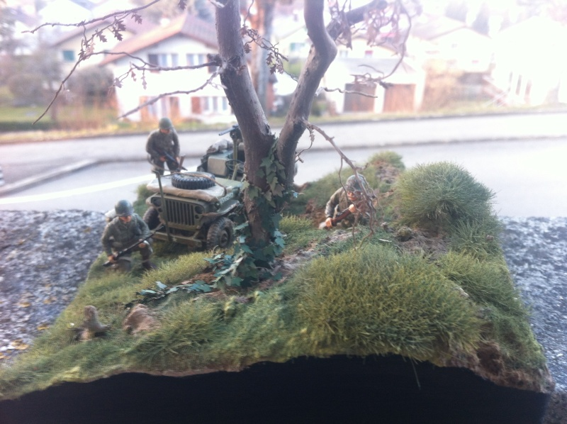 1/35 diorama Jeep Willys reco Photo_46