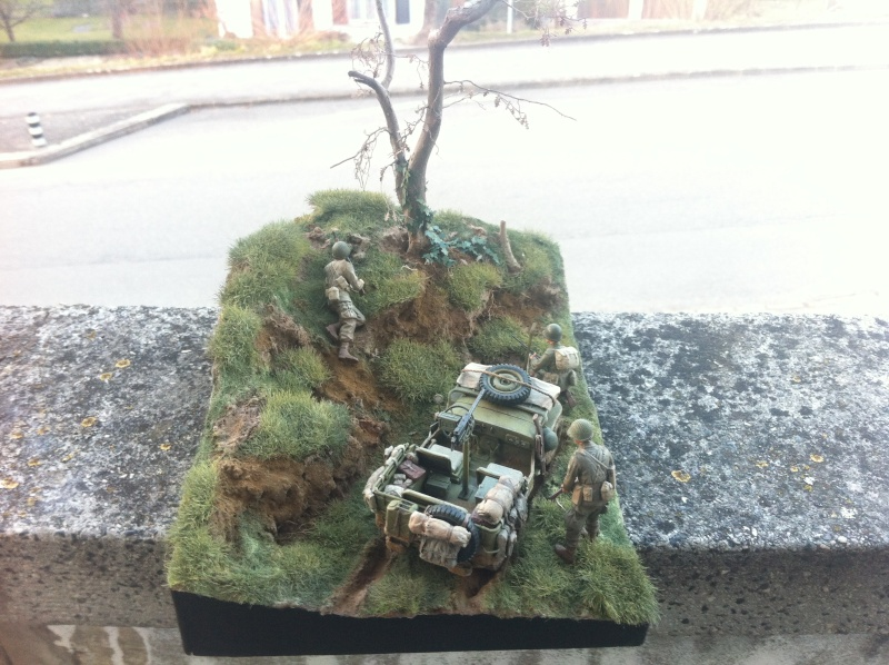 1/35 diorama Jeep Willys reco Photo_47
