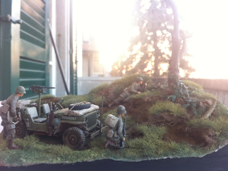 1/35 diorama Jeep Willys reco Photo_48
