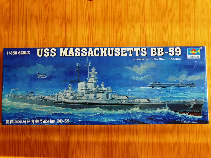 Uss Massachusetts 1/350 Trumpeter Bb59-010