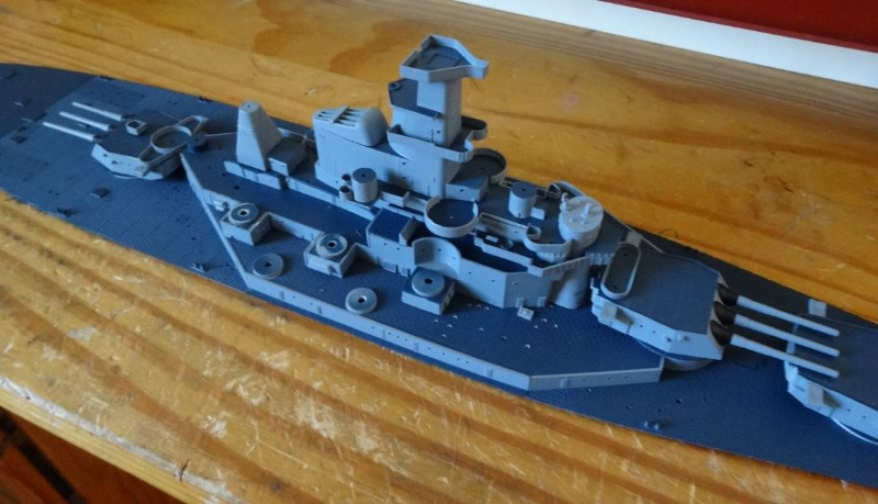 Uss Massachusetts 1/350 Trumpeter Bb59-d12