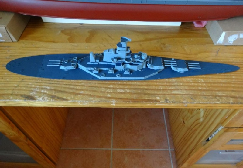 Uss Massachusetts 1/350 Trumpeter Bb59-d14