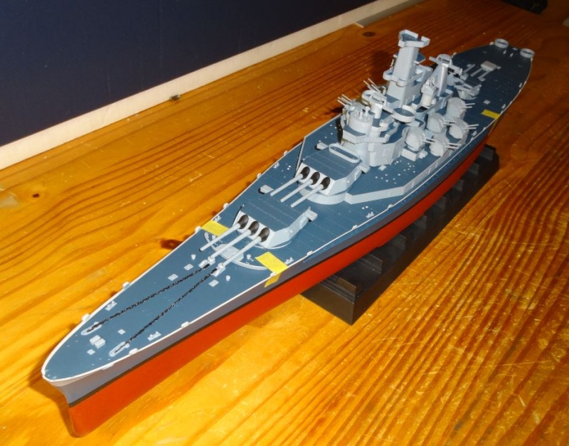 Uss Massachusetts 1/350 Trumpeter - Page 2 Bb59-d16