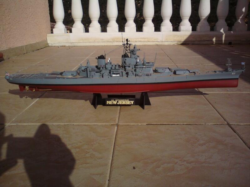 Peinture USS Massachusetts Dsc00510