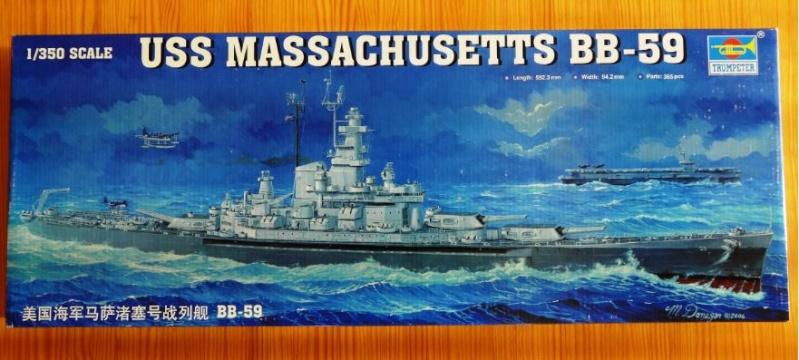 Revue de kit : USS Massachusetts BB-59 1/350 Trumpeter Massac10