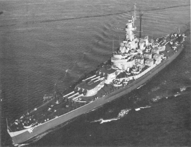 Peinture USS Massachusetts Massac21