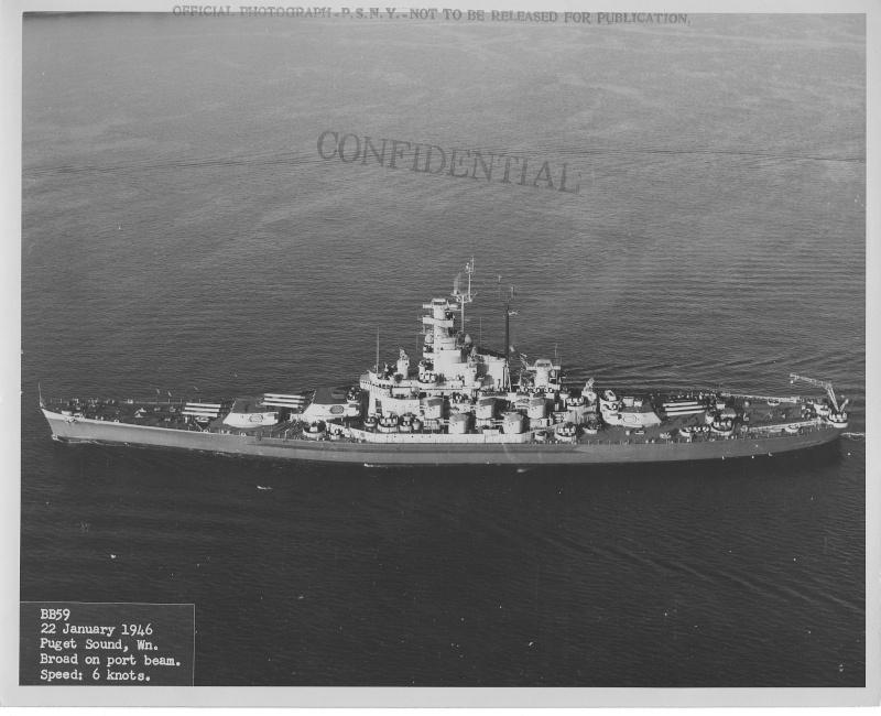 BB-59 USS MASSACHUSETTS 1/350 Massac27