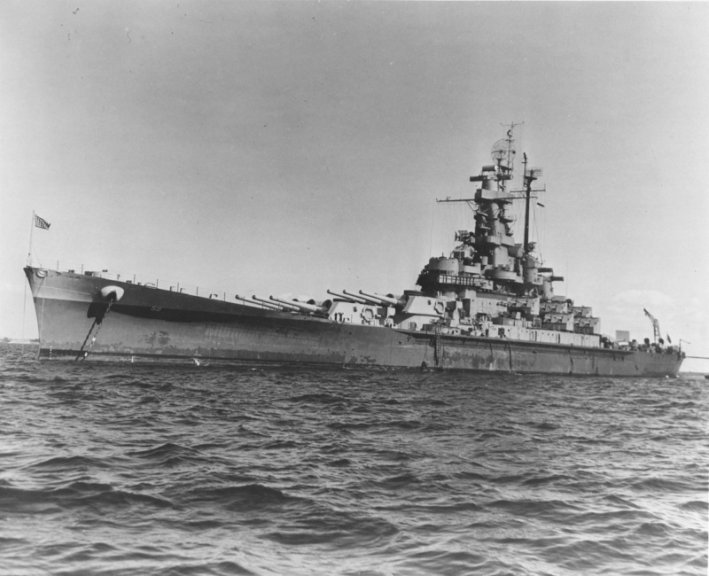 BB-59 USS MASSACHUSETTS 1/350 Massac28