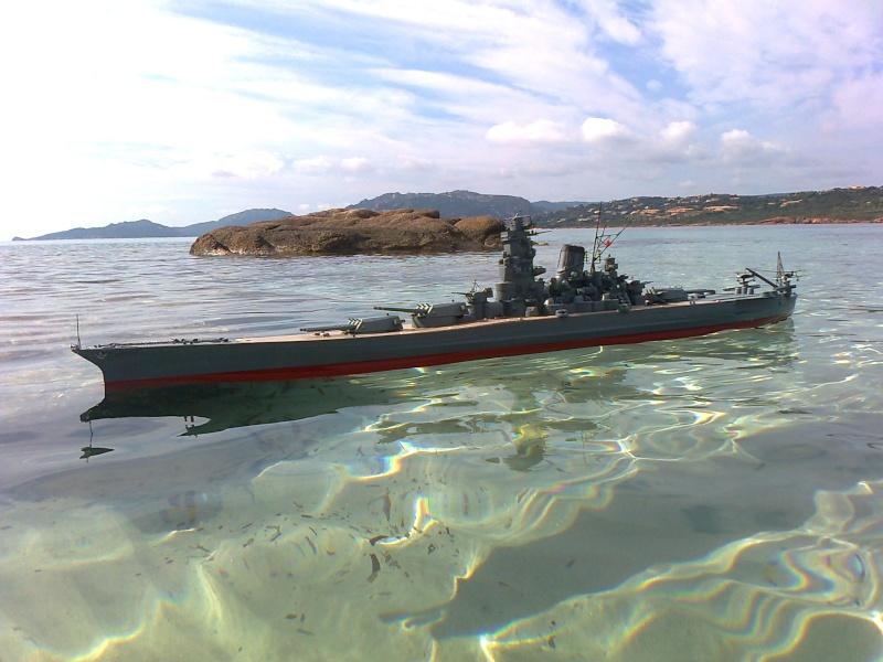 YAMATO 1/200 en Mer Photo011