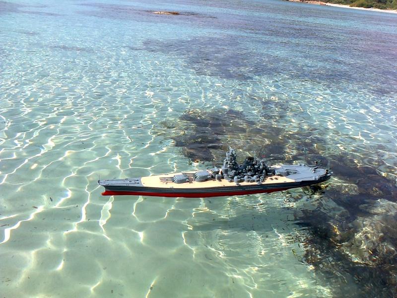 YAMATO 1/200 en Mer Photo012