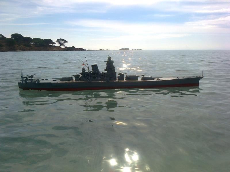 YAMATO 1/200 en Mer Photo013