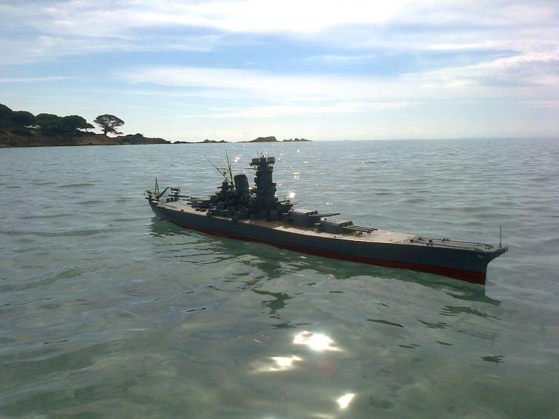 YAMATO 1/200 en Mer Photo014