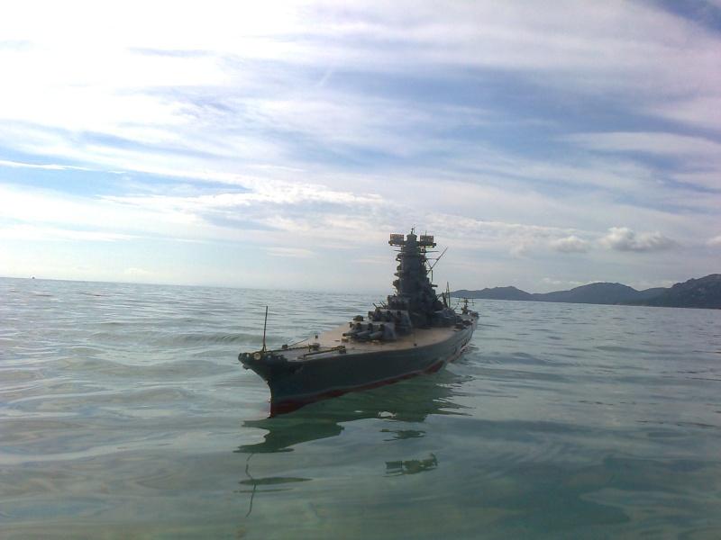 YAMATO 1/200 en Mer Photo016
