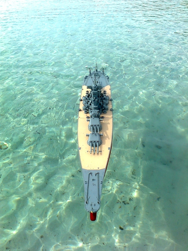 YAMATO 1/200 en Mer Photo019