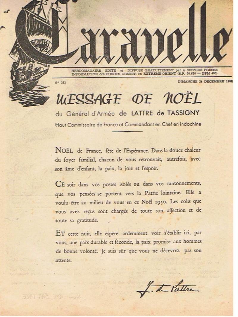 Général DeLatre 1950  Premiers messages Delatr10