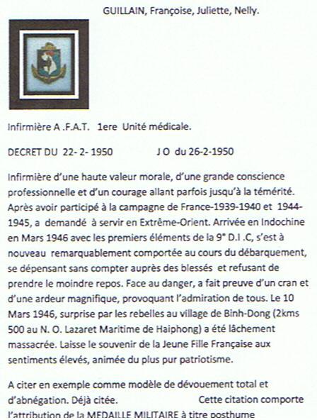 P F A T GUILLAIN,Françoise, juliette, Nelly. Guilla15