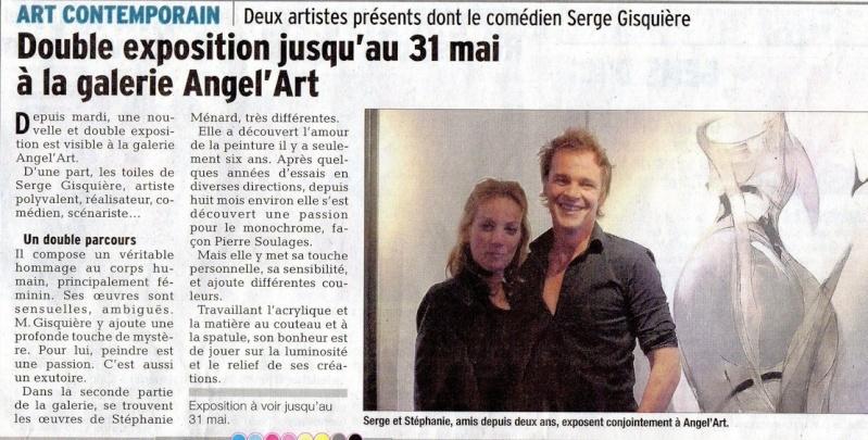 Photos du vernissage de Serge Gisquière - Page 2 313