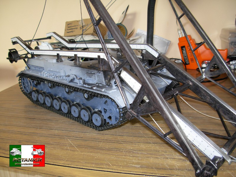 Bruckenleger IV B - il carro gettaponte di Ospite Dscn3524