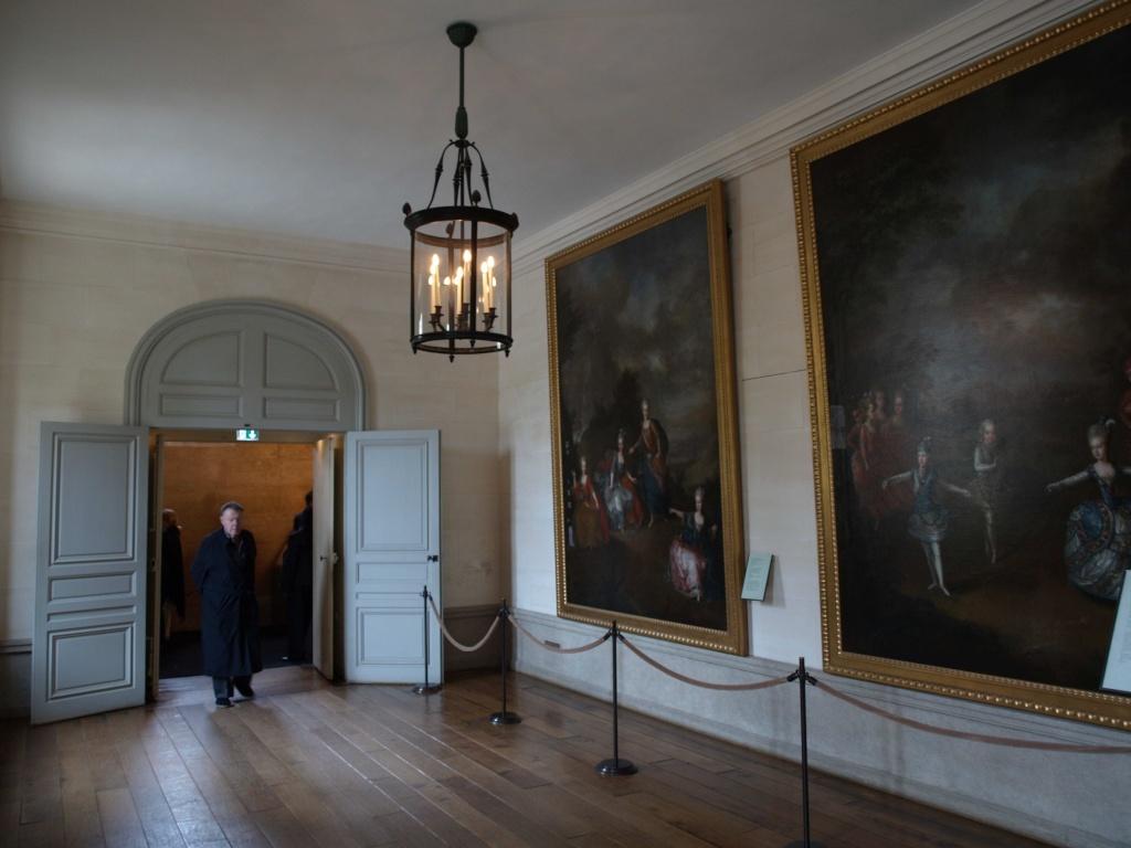 La visite du Petit Trianon: La salle des gardes 14_oct15