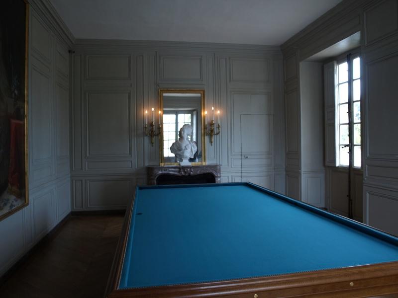 La visite du Petit Trianon: La salle du Billard 14_oct23