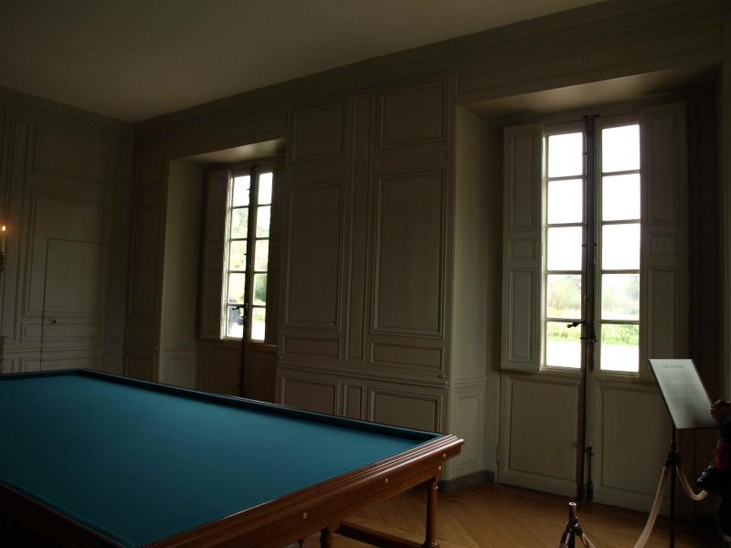 La visite du Petit Trianon: La salle du Billard 14_oct26