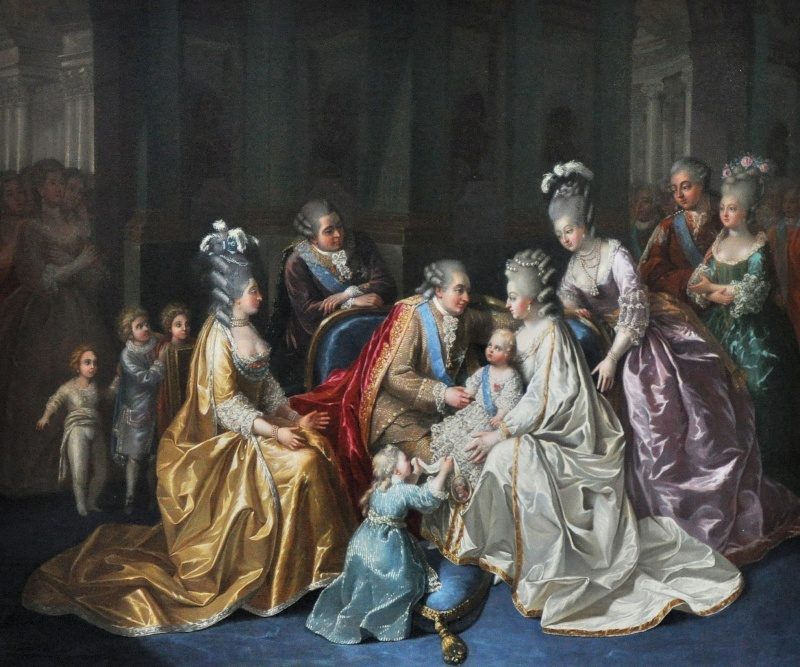 La visite du Petit Trianon: La salle du Billard Anonym10