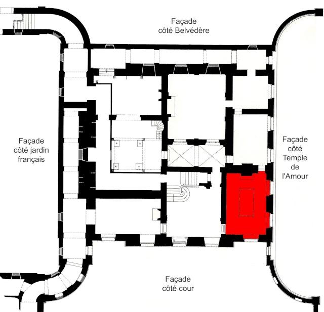 La visite du Petit Trianon: La salle du Billard Billar10