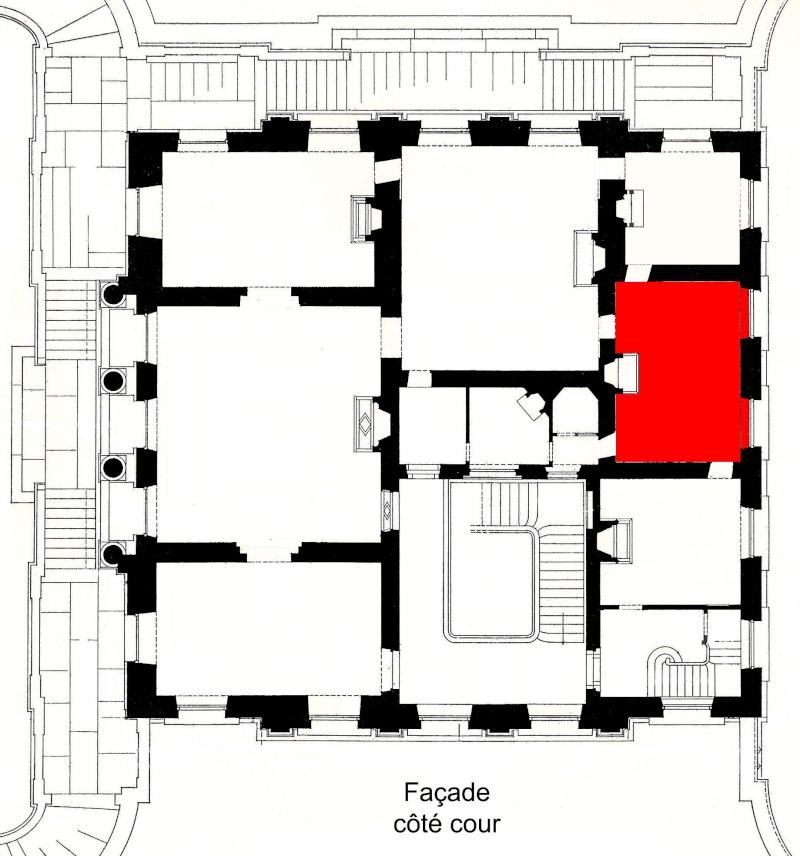 Trianon - La visite du Petit Trianon: La chambre de la Reine Boudoi25