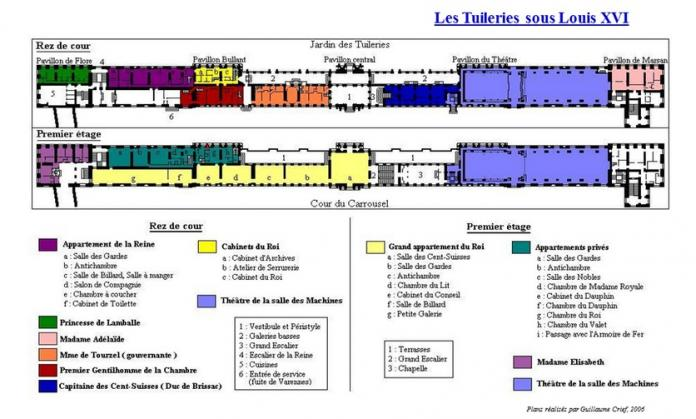 Le palais des Tuileries Evolut10