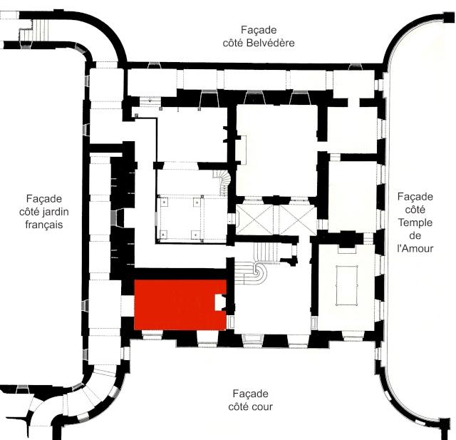 La visite du Petit Trianon: La salle des gardes Guardi10