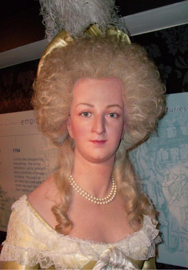 Marie Antoinette, chez Madame Tussaud Marive10