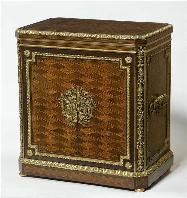 Malles et coffres de voyage de Marie-Antoinette Objets10