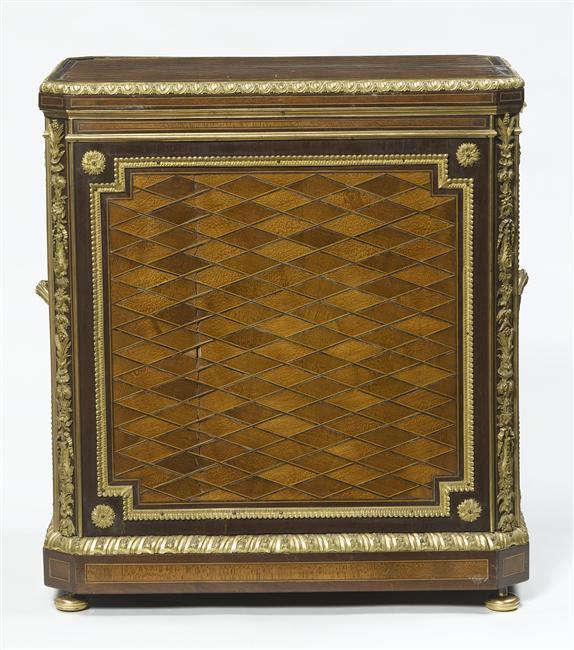 Malles et coffres de voyage de Marie-Antoinette Objets12