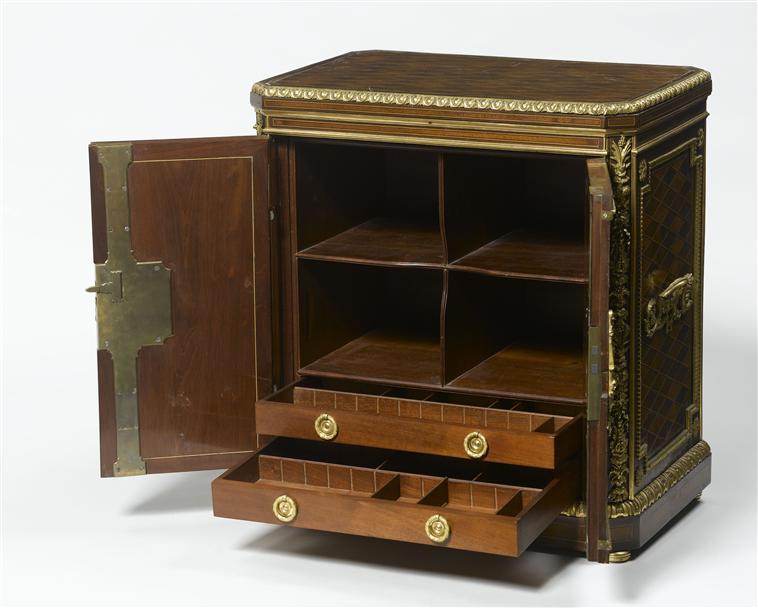 Malles et coffres de voyage de Marie-Antoinette Objets13
