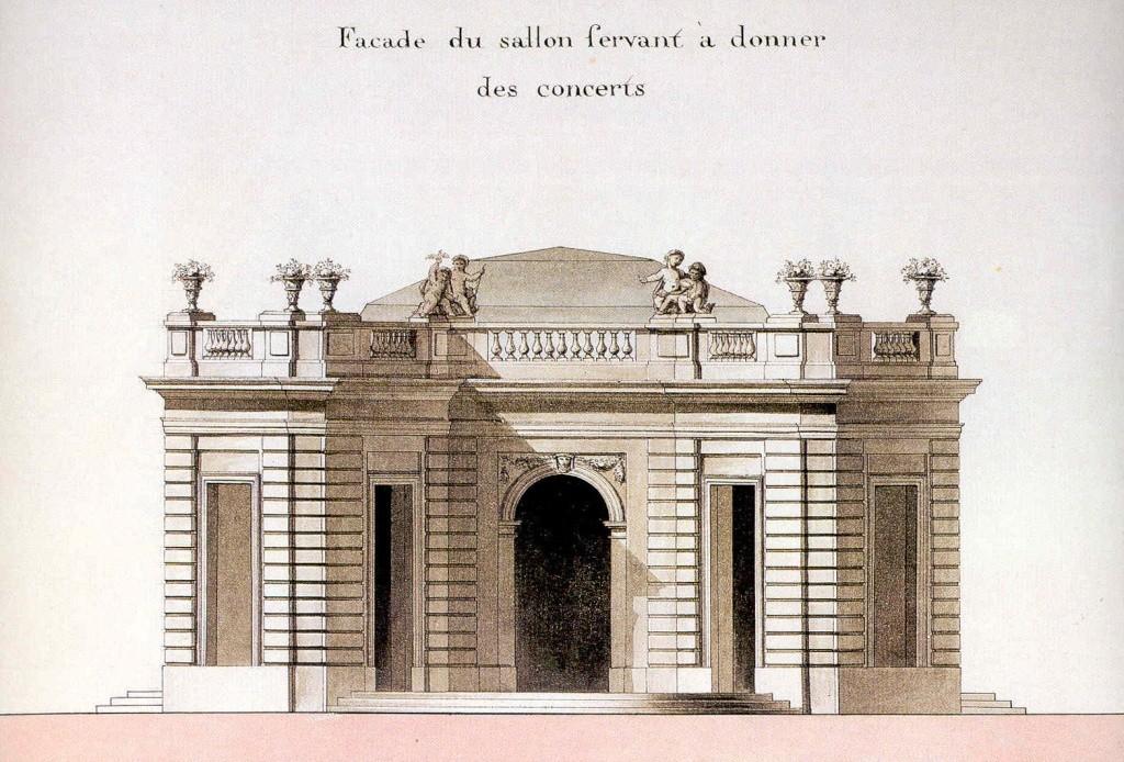 Le Pavillon français du domaine du Petit Trianon Petit_22