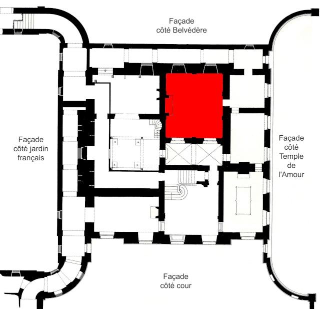 Trianon - La visite du Petit Trianon: Le Réchauffoir Rechau10