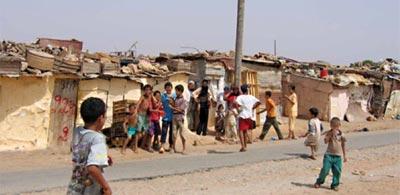 Le mot bidonville est une création Marocaine ! shanty town et slum Marocain Maroc510