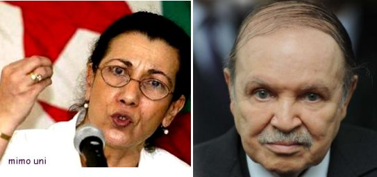 Louisa hanoune affrontera Bouteflika a la presidentielle  17 avril Mimoun13