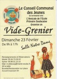 Vide Grenier le 23 Février 2014 à Soulac sur mer 05619510
