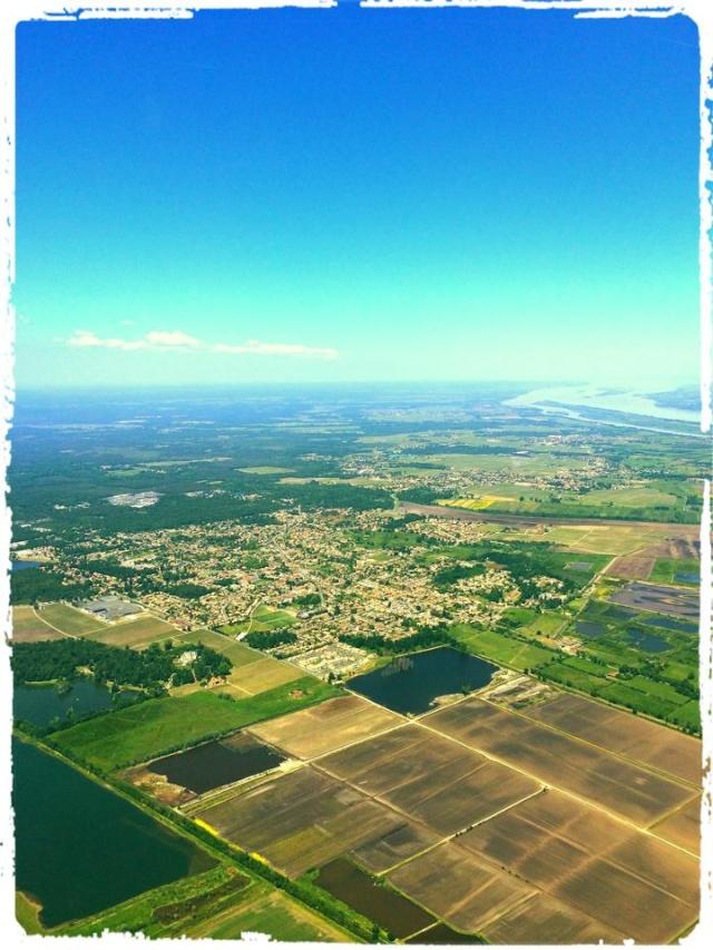 Photos prises en avion du Médoc 10178112