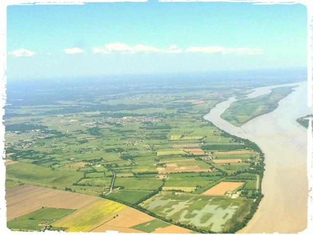 Photos prises en avion du Médoc 10325510