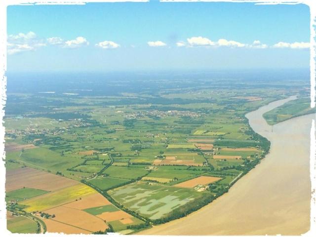 Photos prises en avion du Médoc 10394510