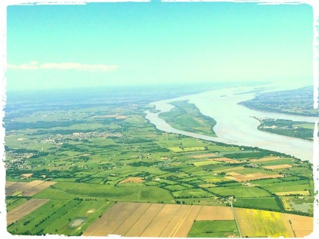 Photos prises en avion du Médoc 10403410