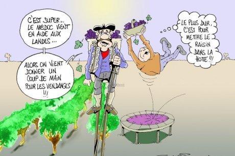 Les dessins humoristiques du Journal Sud Ouest sur l actualité du Médoc - Page 2 11899010