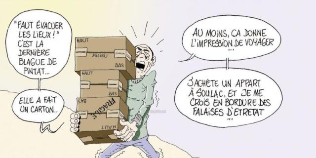 Les dessins humoristiques du Journal Sud Ouest sur l actualité du Médoc 14405510