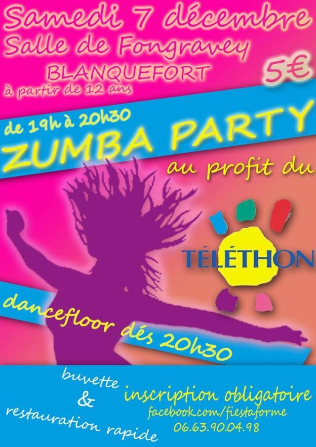 Zumba Party au profit du Téléthon le 7 Décembre 2013 à Blanquefort 14577510