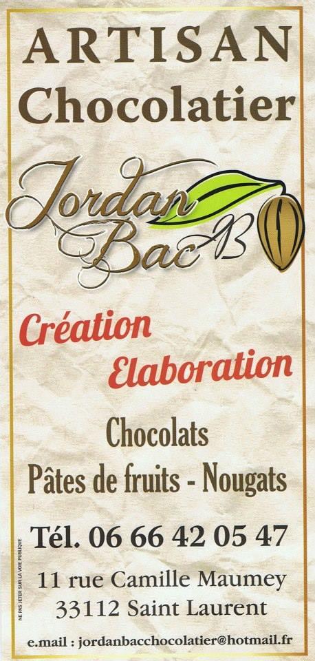 """Page Facebook """" Jordan Bac Artisan Chocolatier """" 14637510"""
